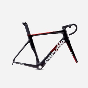 [Cervelo] S3 RIM FRAMESET (GRAPHITE/BLACK/RED)